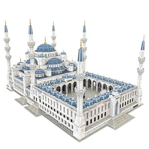 Cubic Cubic Fun 3D 321 Parça Puzzle Sultan Ahmet Camii Renkli